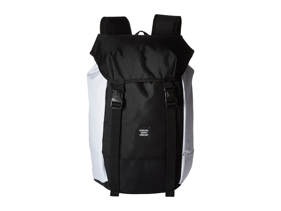 Herschel Supply Co. - Iona (Black/White) Backpack Bags