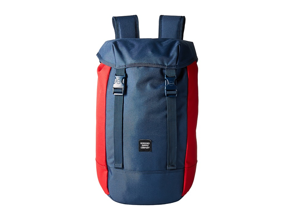 Herschel Supply Co. - Iona (Navy/Red) Backpack Bags