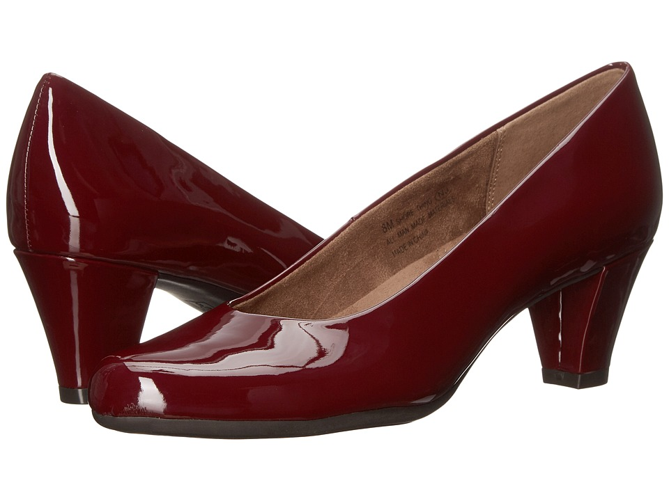 Aerosoles Shore Thing (Dark Red Patent) High Heels