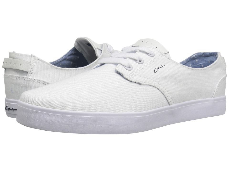 Circa - Harvey (White/Navy) Men's Skate Shoes