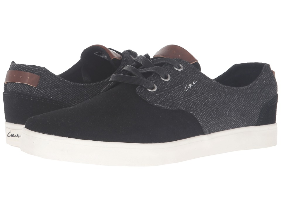Circa - Harvey (Black/Gum) Men's Skate Shoes