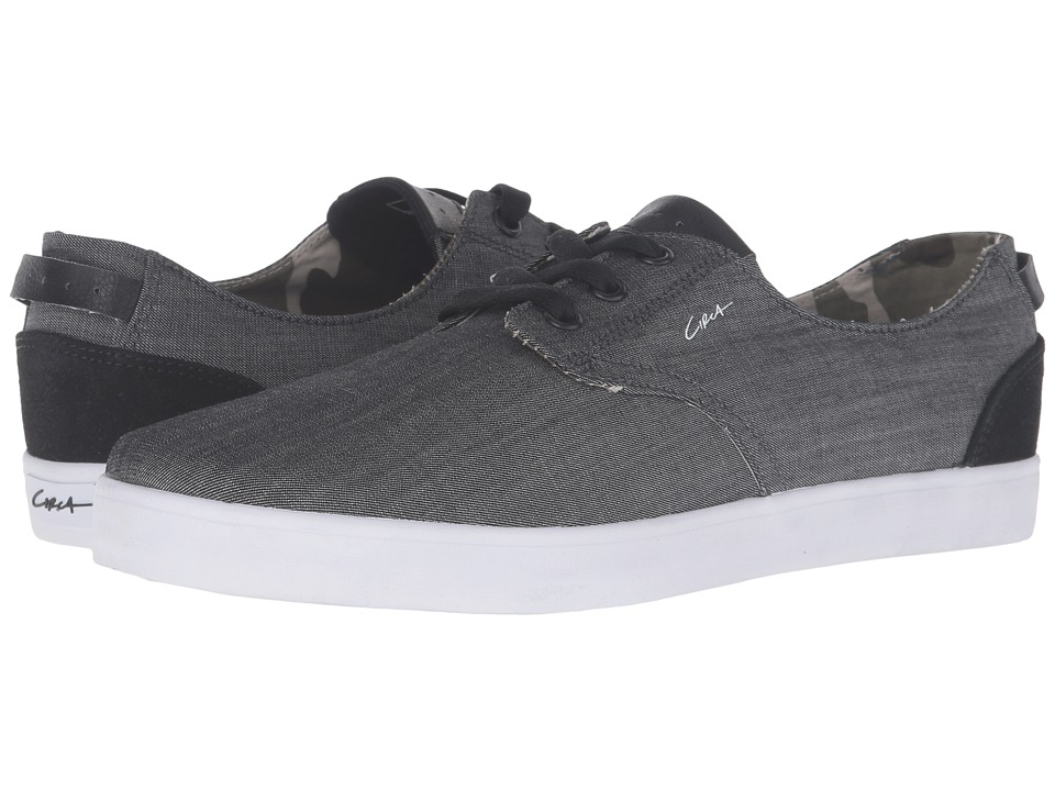 Circa - Harvey (Black/Denim) Men's Skate Shoes