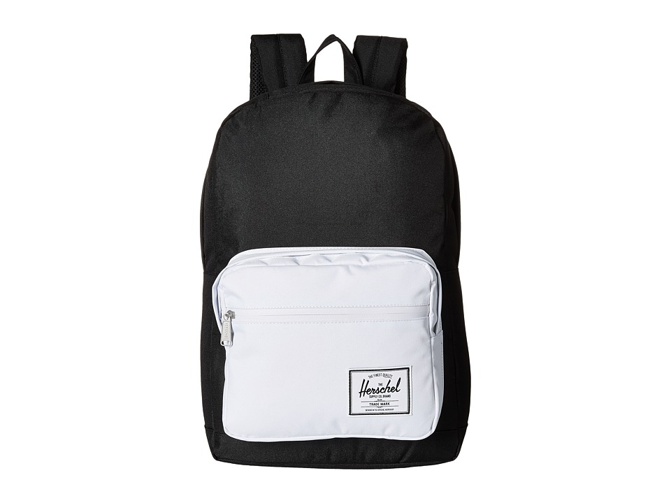 Herschel Supply Co. - Pop Quiz (Black/White) Backpack Bags
