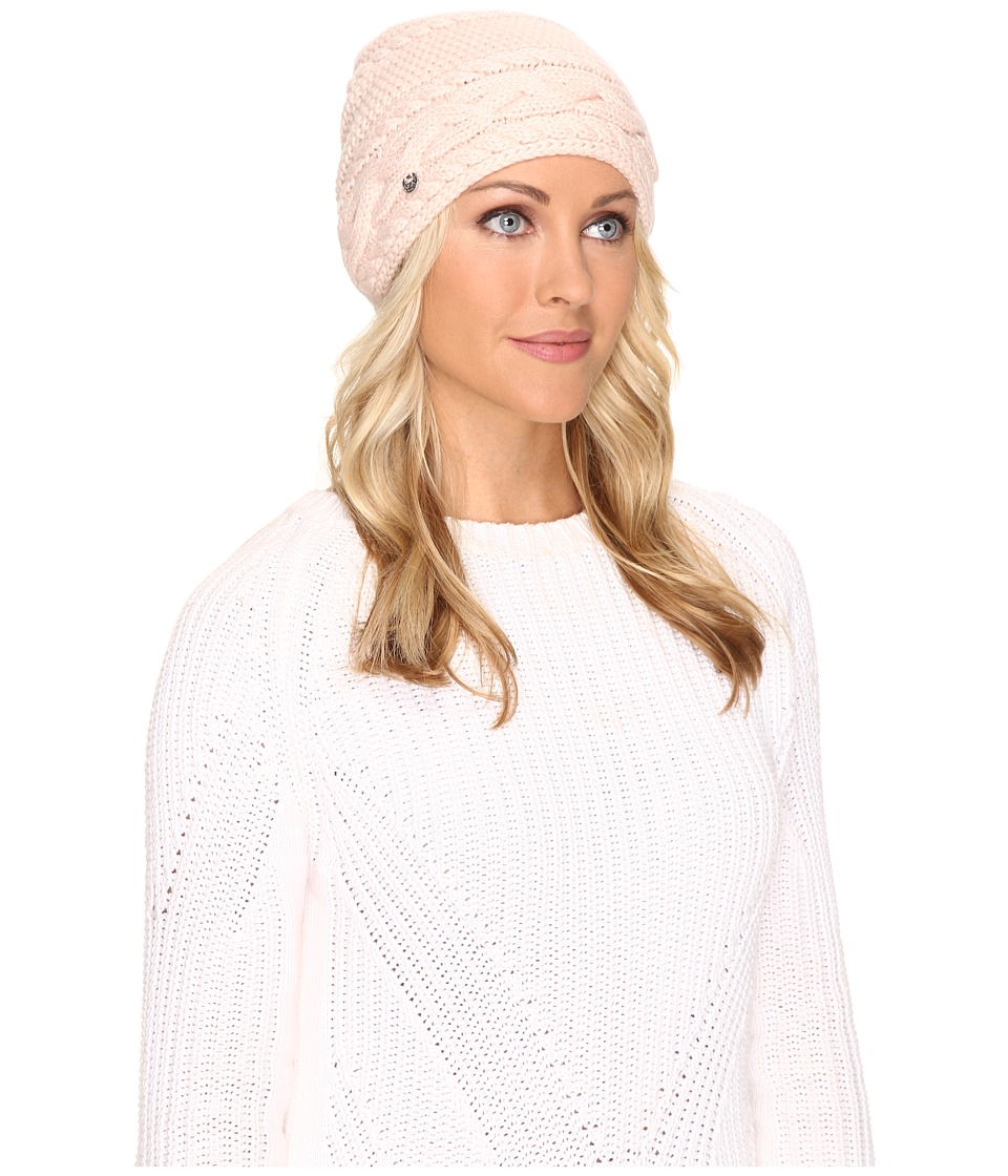 UGG - Cable Oversized Beanie (Freshwater Pearl Multi) Cold Weather Hats