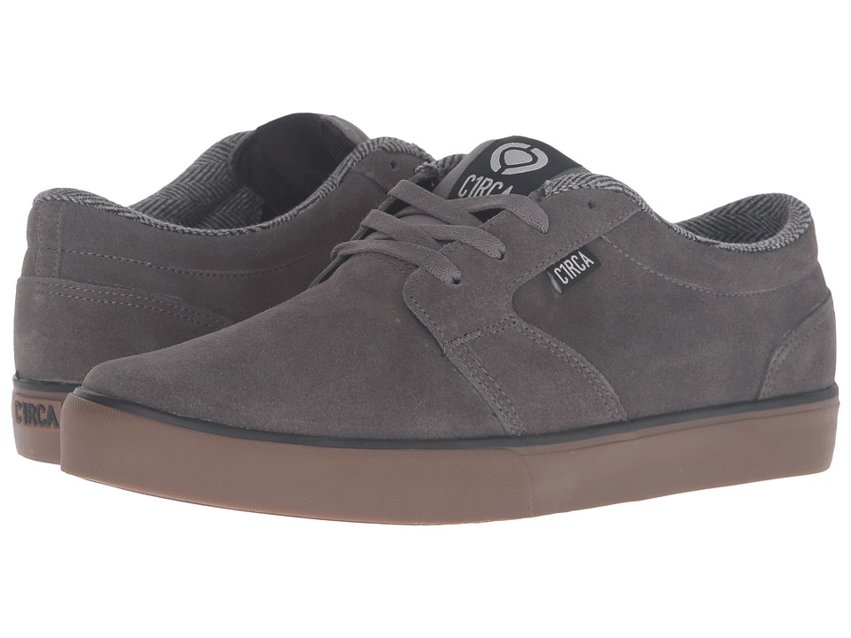 Circa - Hesh 2.0 (Gunmetal/Gum) Men's Skate Shoes