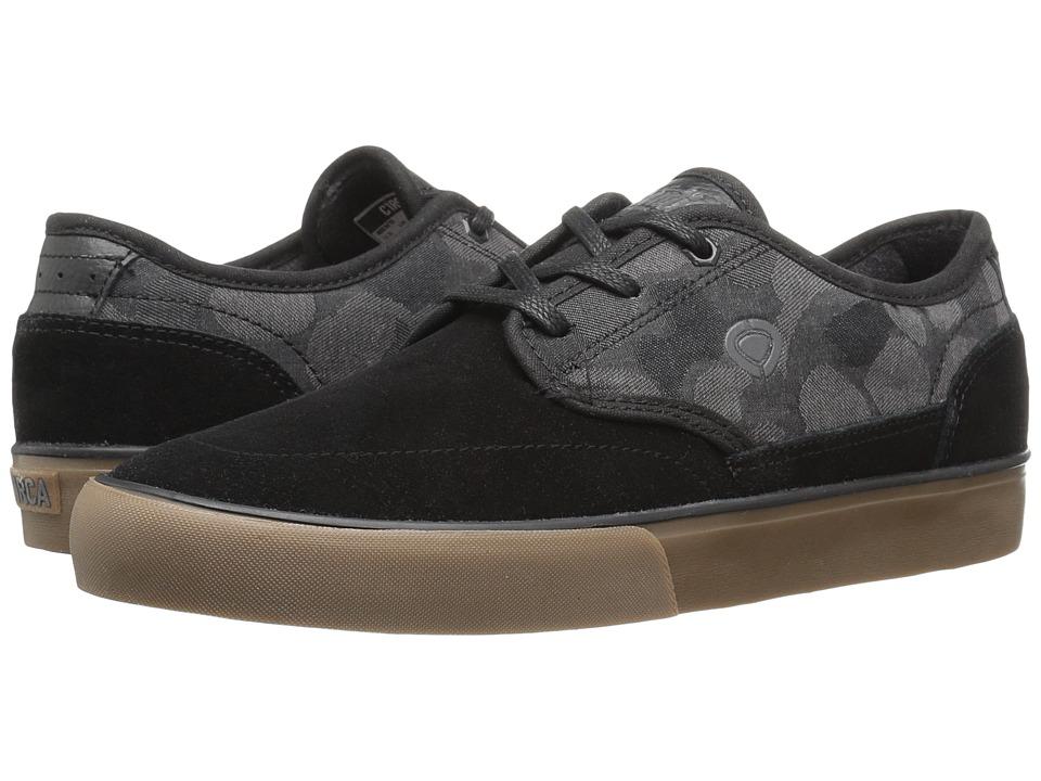 Circa - Essential (Black/Camo/Gum) Men's Skate Shoes
