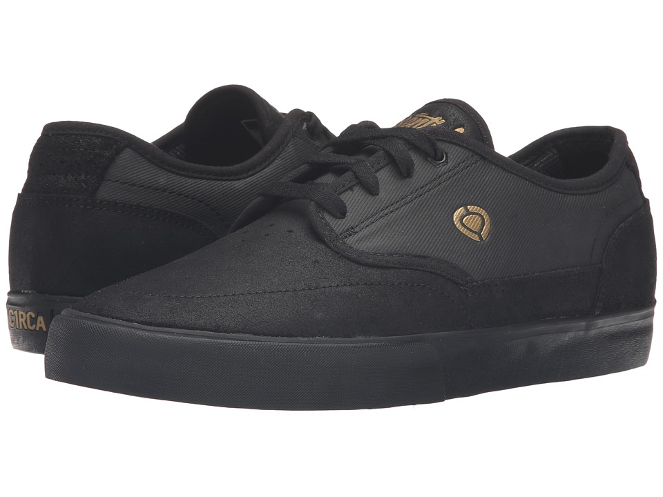 Circa - Essential (Black/Gold) Men's Skate Shoes