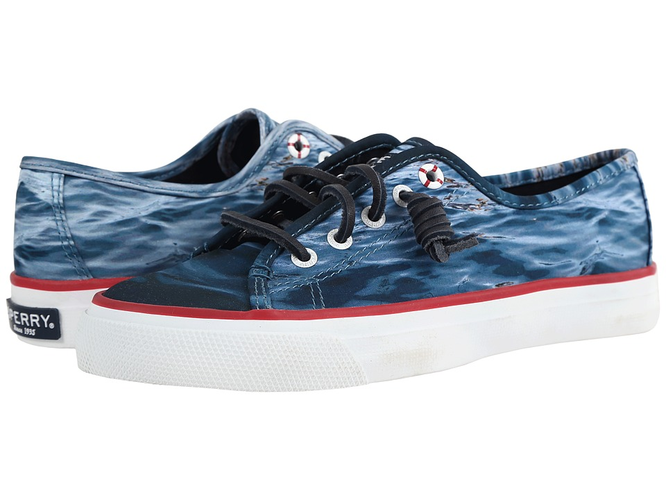 Sperry - JAWS Seacoast Sneaker (Navy) Women's Lace up casual Shoes
