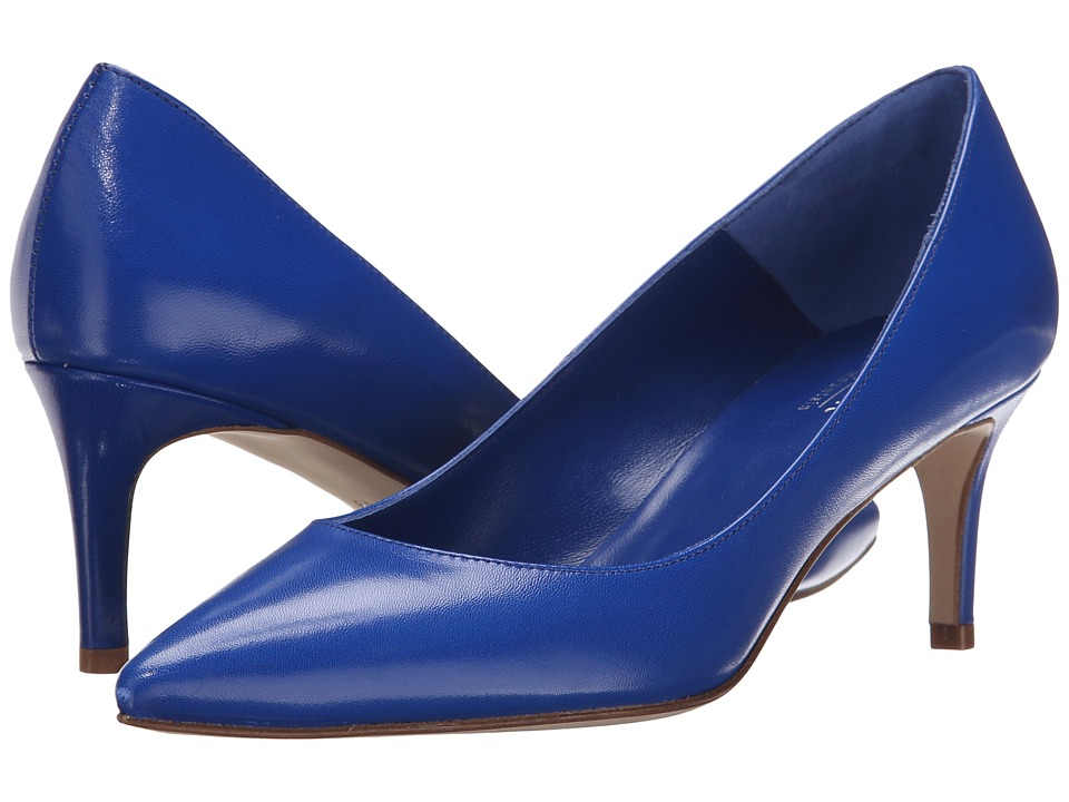 Summit White Mountain - Callison (Cobalt Leather) High Heels