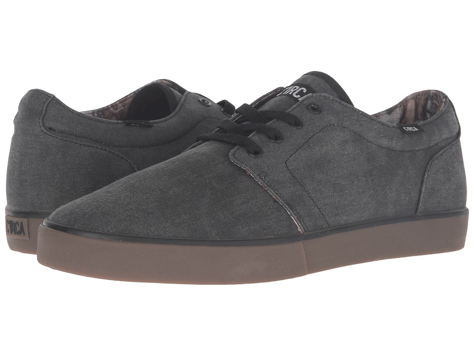 Circa - Drifter (Charcoal/Black) Men's Skate Shoes