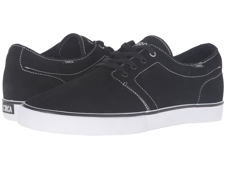 Circa - Drifter (Black/White 2) Men's Skate Shoes