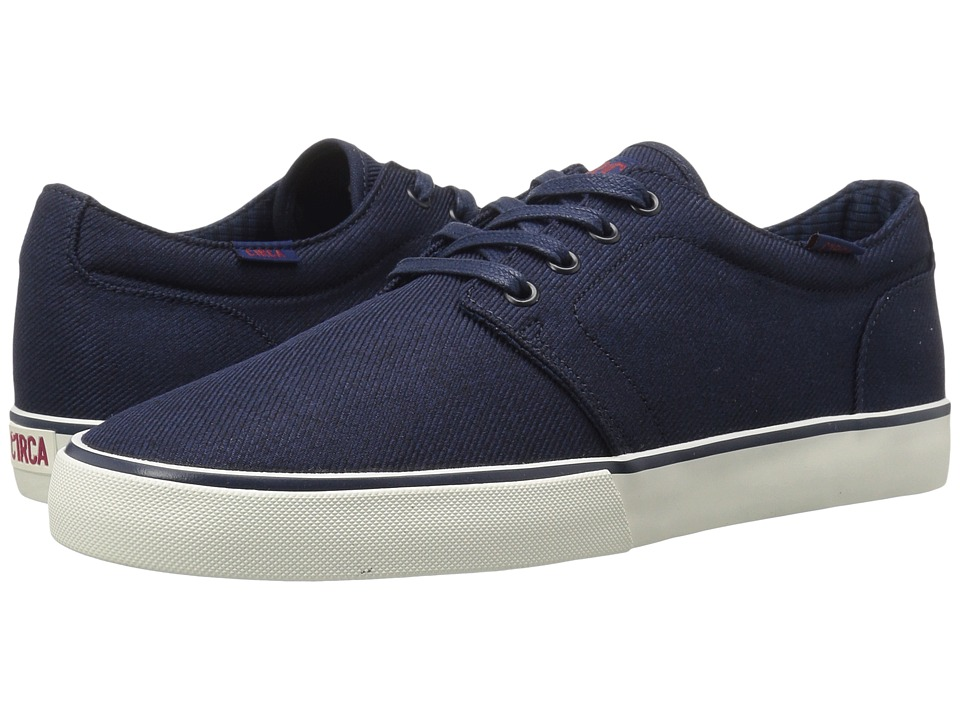 Circa - Drifter (Indigo/Gum) Men's Skate Shoes