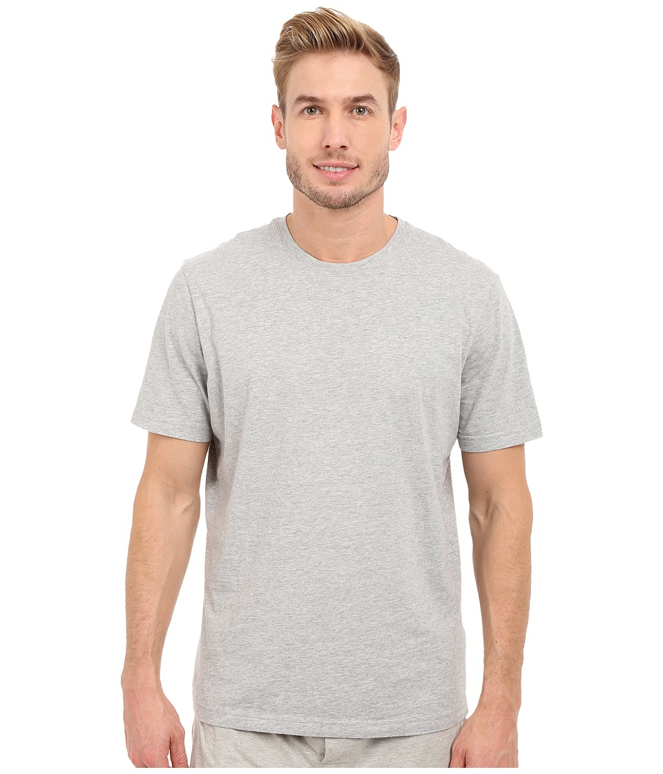 Mod-o-doc - Sunset Short Sleeve Crew (Heather Grey) Men's Short Sleeve Pullover
