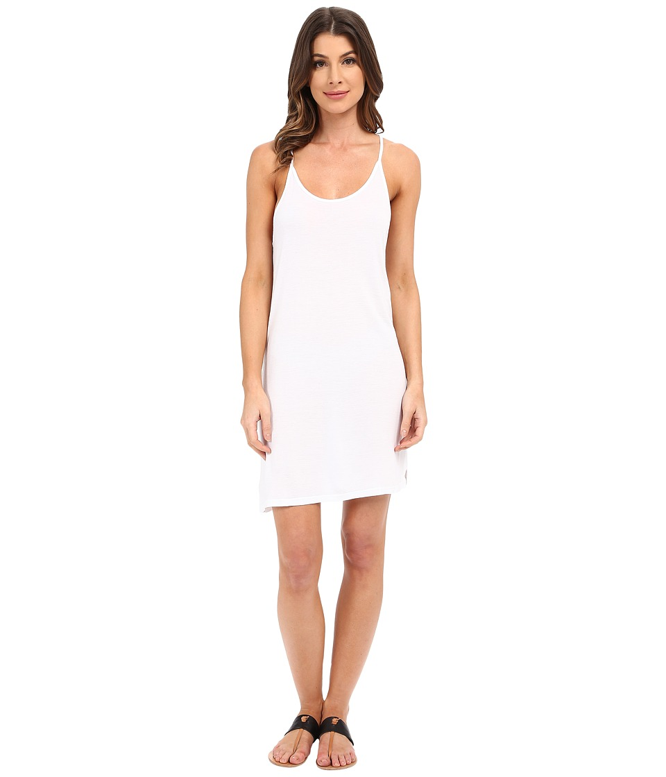 Project Social T - Cami Tunic (White) Women's Blouse
