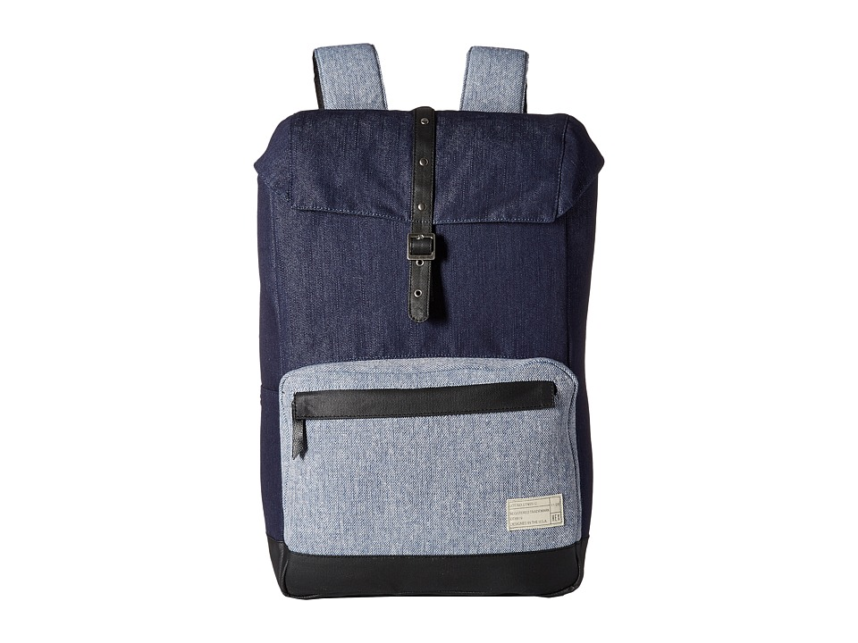 HEX - Coast Backpack (Denim/Tweed) Backpack Bags