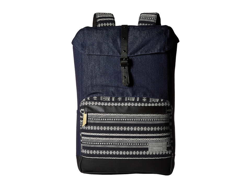 HEX - Coast Backpack (Denim/Stripe) Backpack Bags