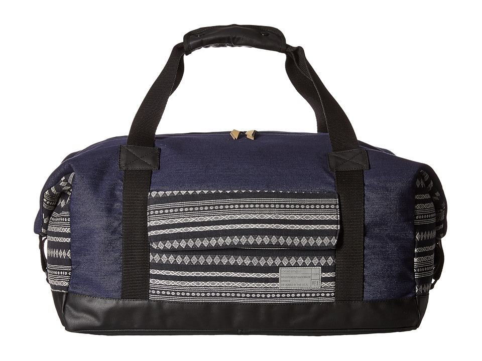 HEX - Relay Duffel (Denim/Stripe) Duffel Bags