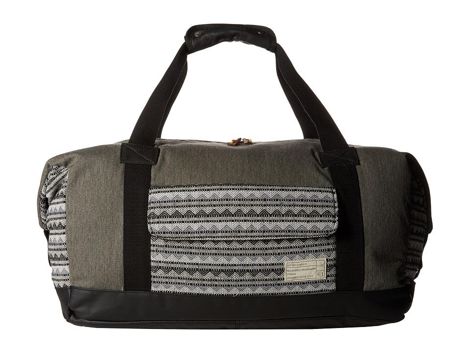 HEX - Relay Duffel (Grey/Geo) Duffel Bags
