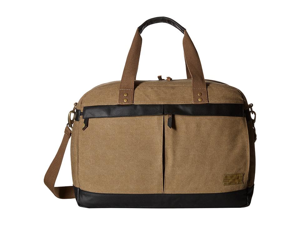 HEX - Overnight Duffel (Khaki) Duffel Bags