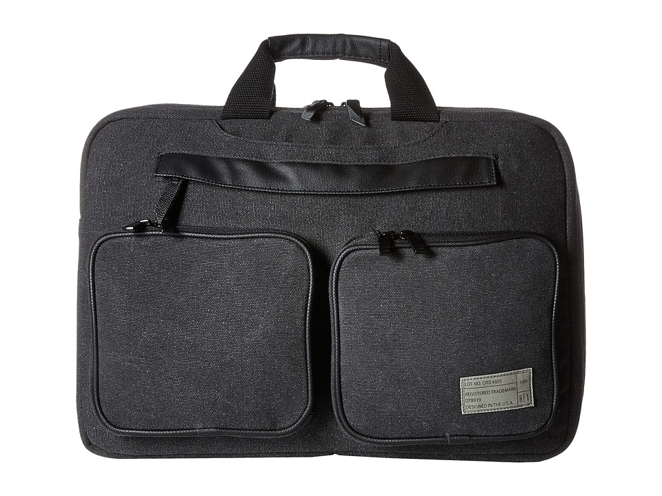 HEX - Convertible Briefcase (Charcoal Canvas) Briefcase Bags