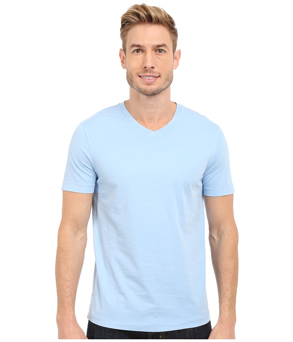 Mod-o-doc - Del Mar Short Sleeve V-Neck Tee (Waterscape) Men's T Shirt