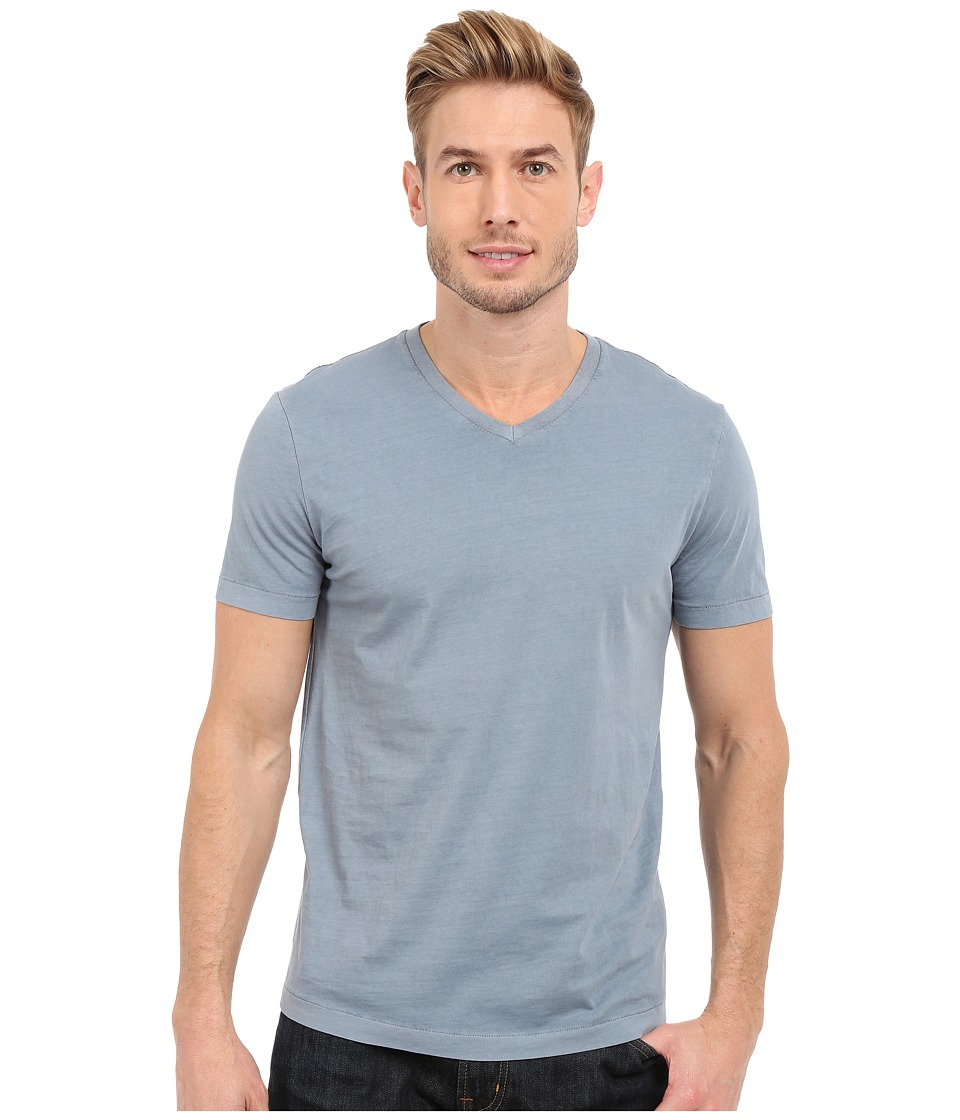 Mod-o-doc - Del Mar Short Sleeve V-Neck Tee (Castlerock) Men's T Shirt