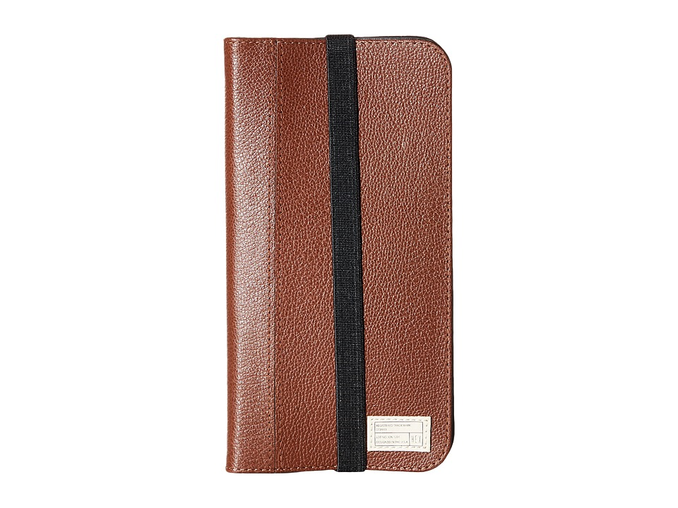 HEX - iPhone6+/6S+ Icon Wallet (Dark Brown) Cell Phone Case