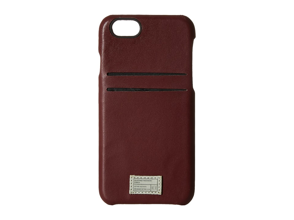 HEX - iPhone6/6S Solo Wallet (Morocan Red) Cell Phone Case