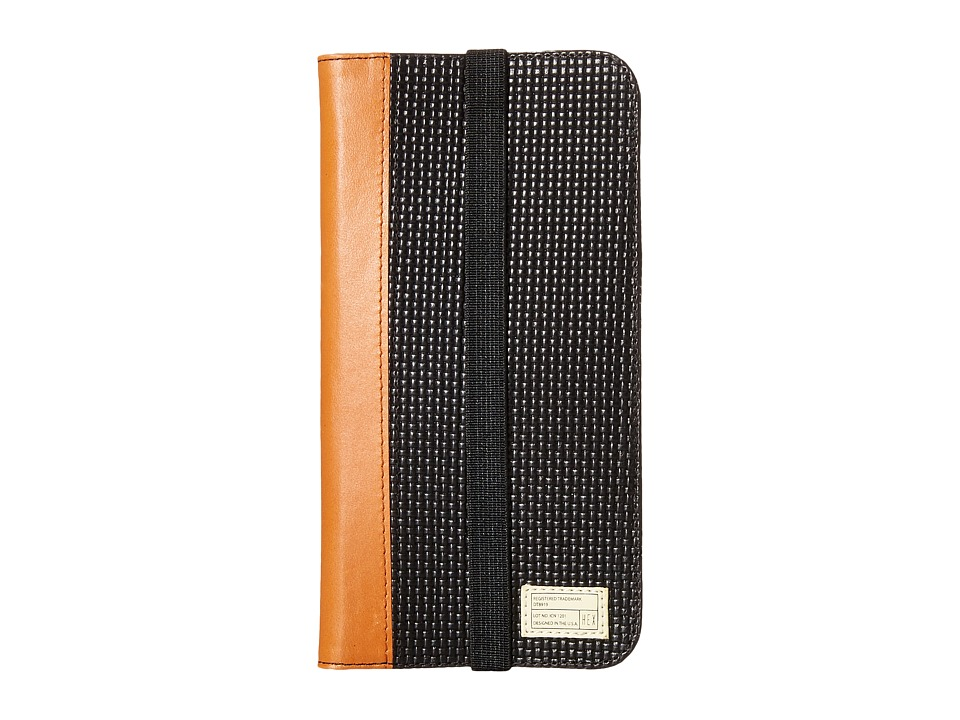 HEX - iPhone6+/6S+ Icon Wallet (Black Woven) Cell Phone Case