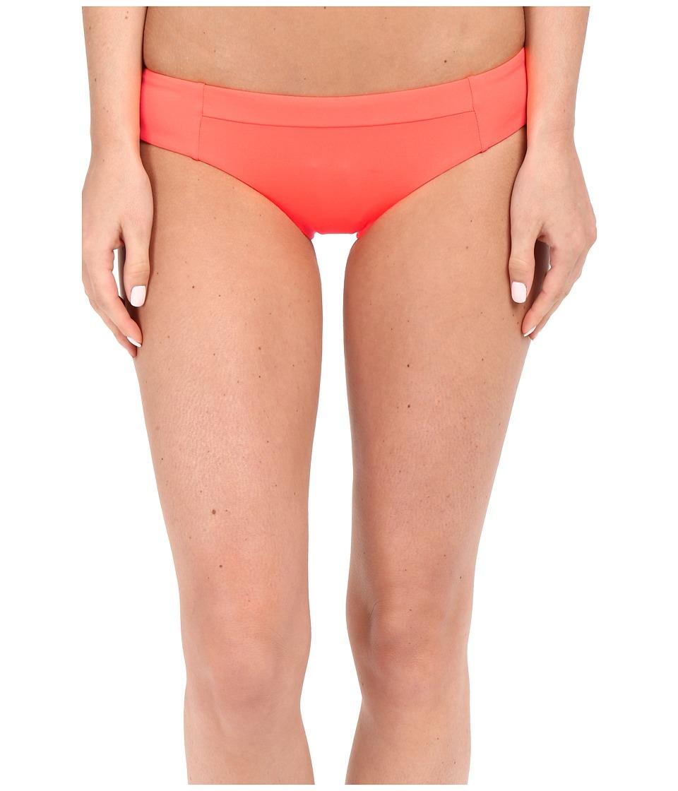 Vitamin A Swimwear - Adriana Hipster (Guava) Women's Swimwear