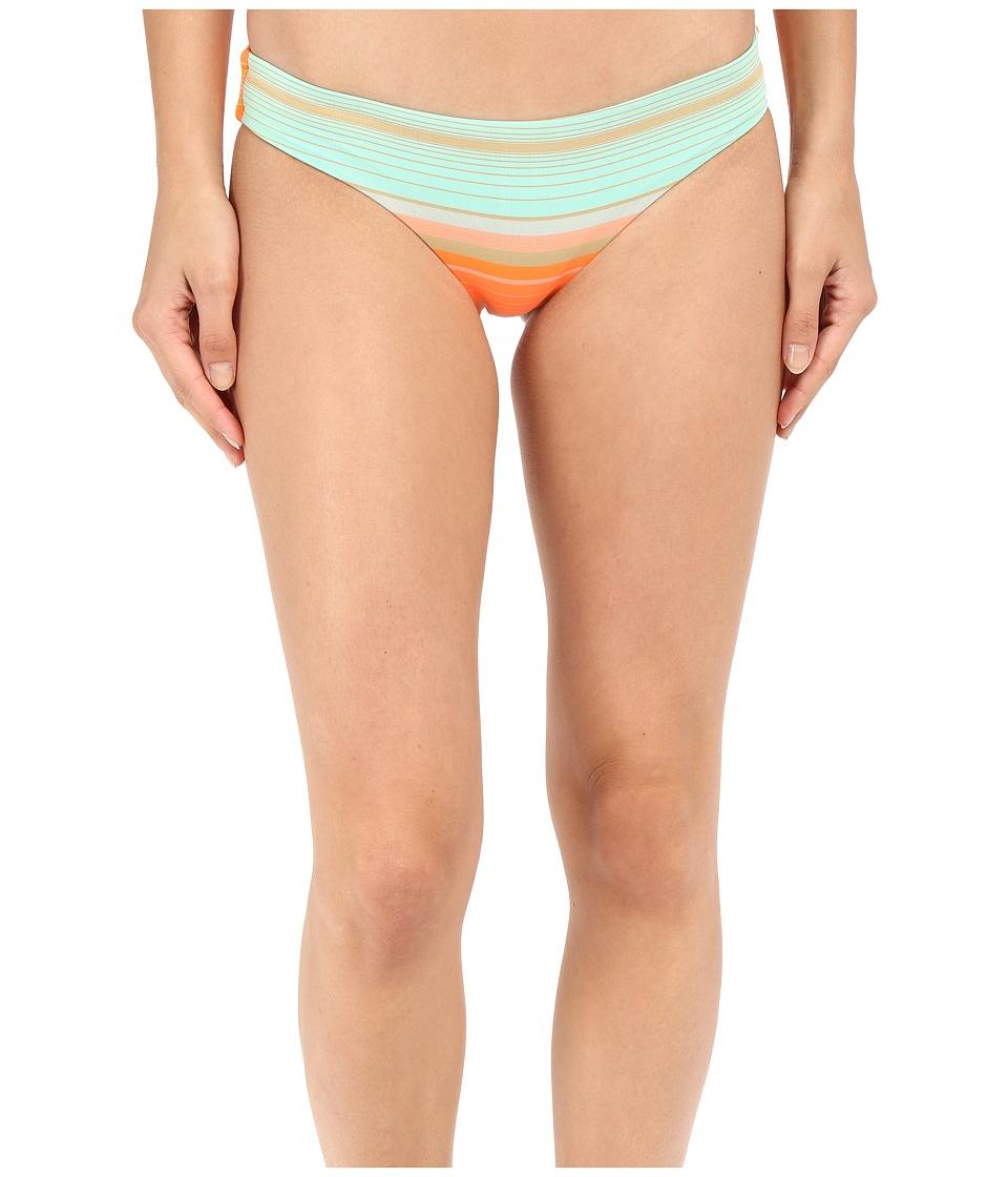 Vitamin A Swimwear - Giselle Hipster Full (St. Maarten Stripe) Women's Swimwear
