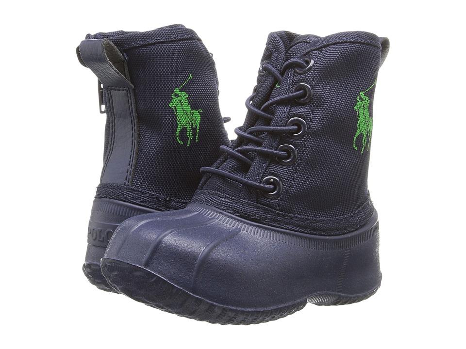 Polo Ralph Lauren Kids - Eisley (Toddler) (Navy Ballistic Nylon/Royal Pony Player) Kid's Shoes