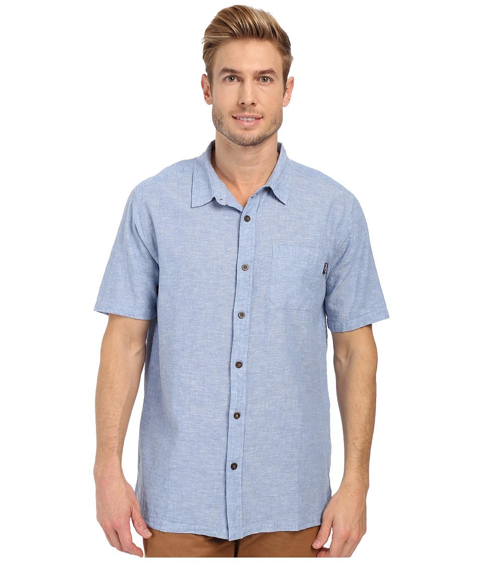 Jack O'Neill - Inlet Wovens (Riviera) Men's Short Sleeve Knit
