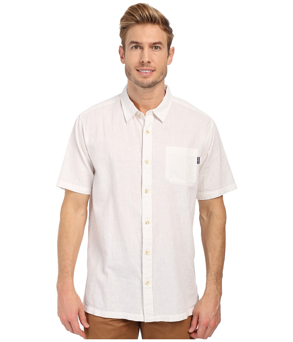 Jack O'Neill - Inlet Wovens (White 1) Men's Short Sleeve Knit