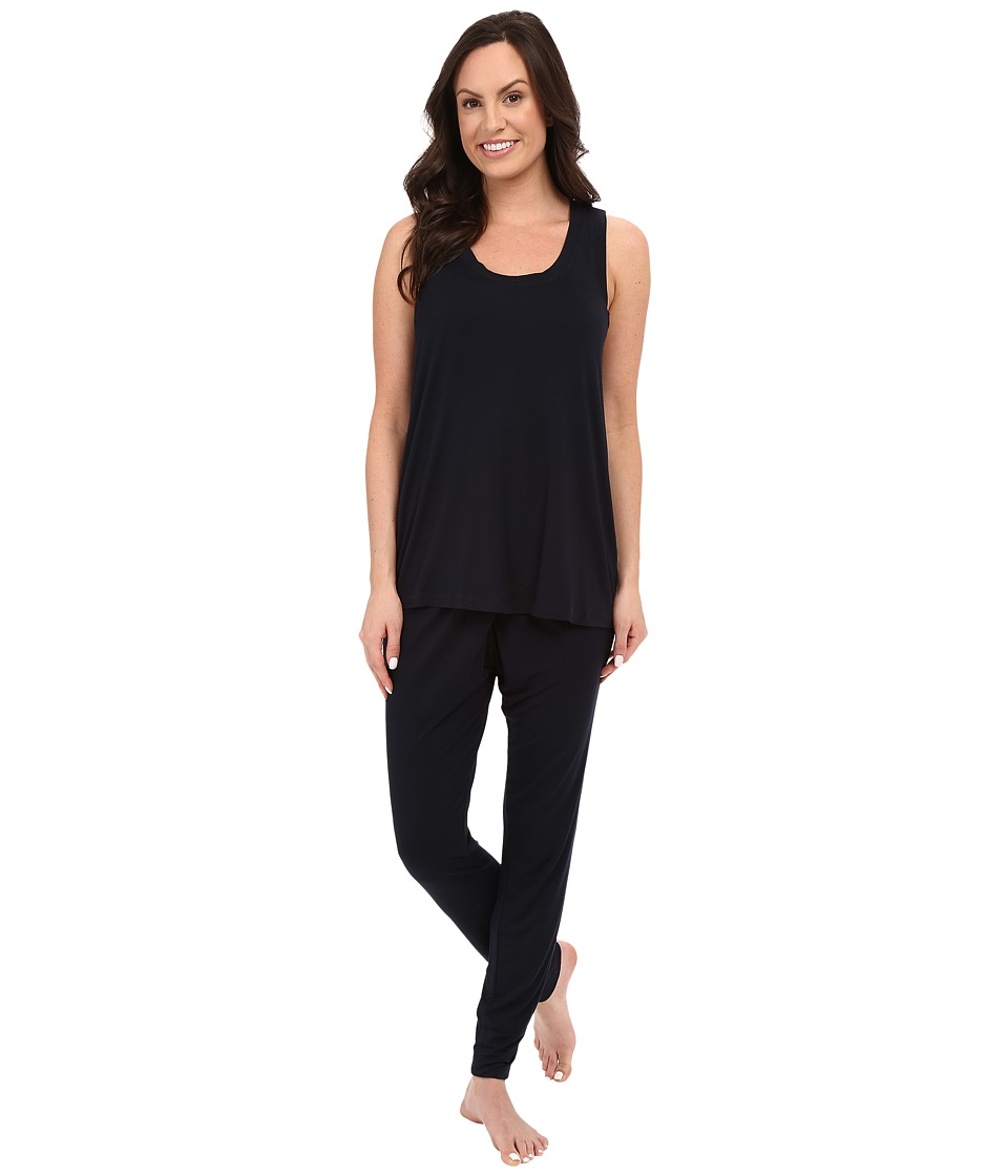 Midnight by Carole Hochman - Sleeveless Pajama (Midnight) Women's Pajama Sets