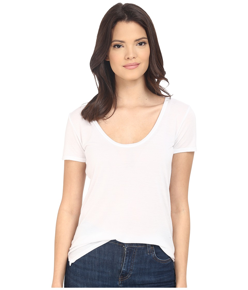 Project Social T - Jamie Tee (White) Women's Short Sleeve Pullover
