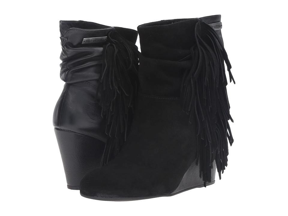 Harley-Davidson - Tybee (Black) Women's Dress Zip Boots