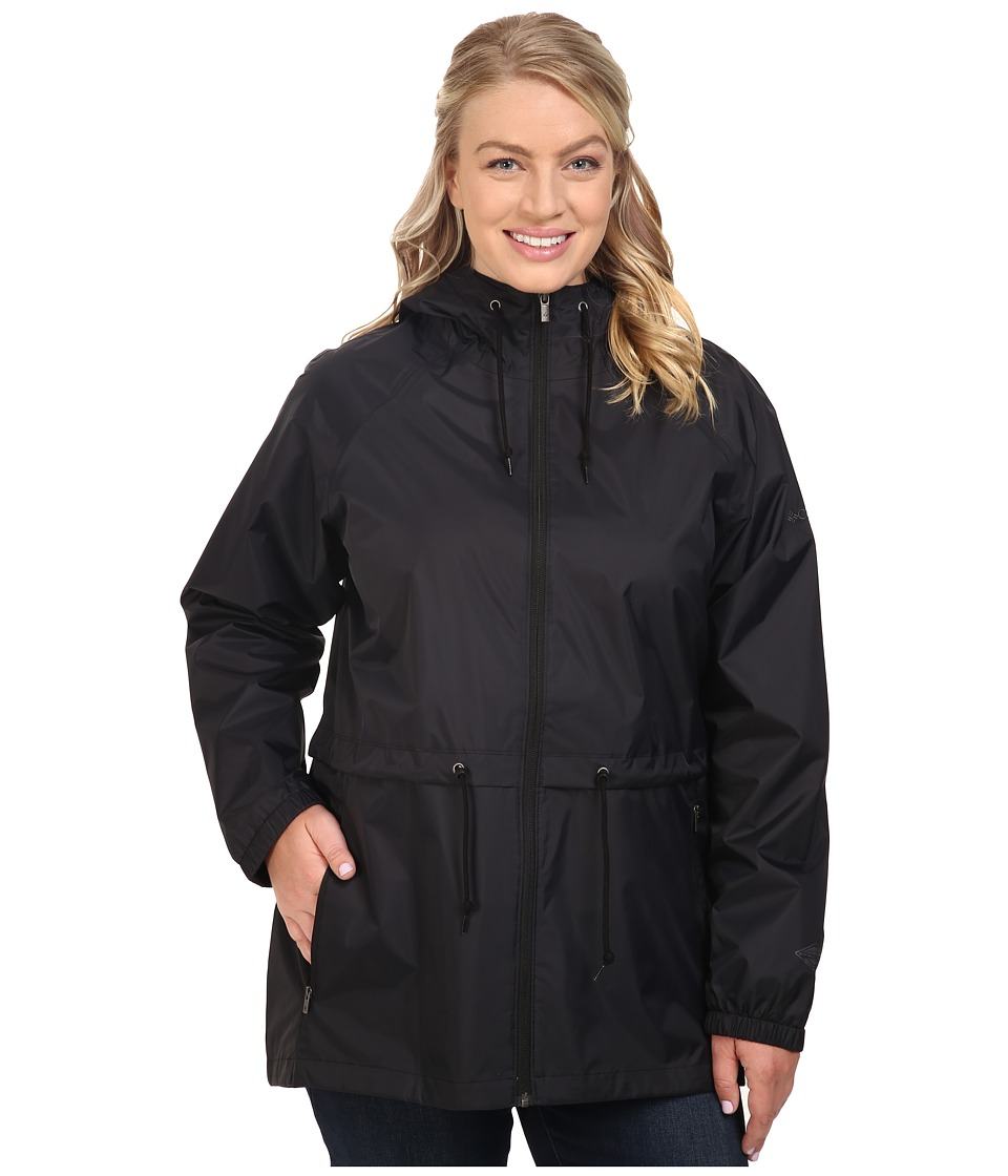 Columbia - Plus Size Arcadia Casual Jacket (Black) Women's Coat
