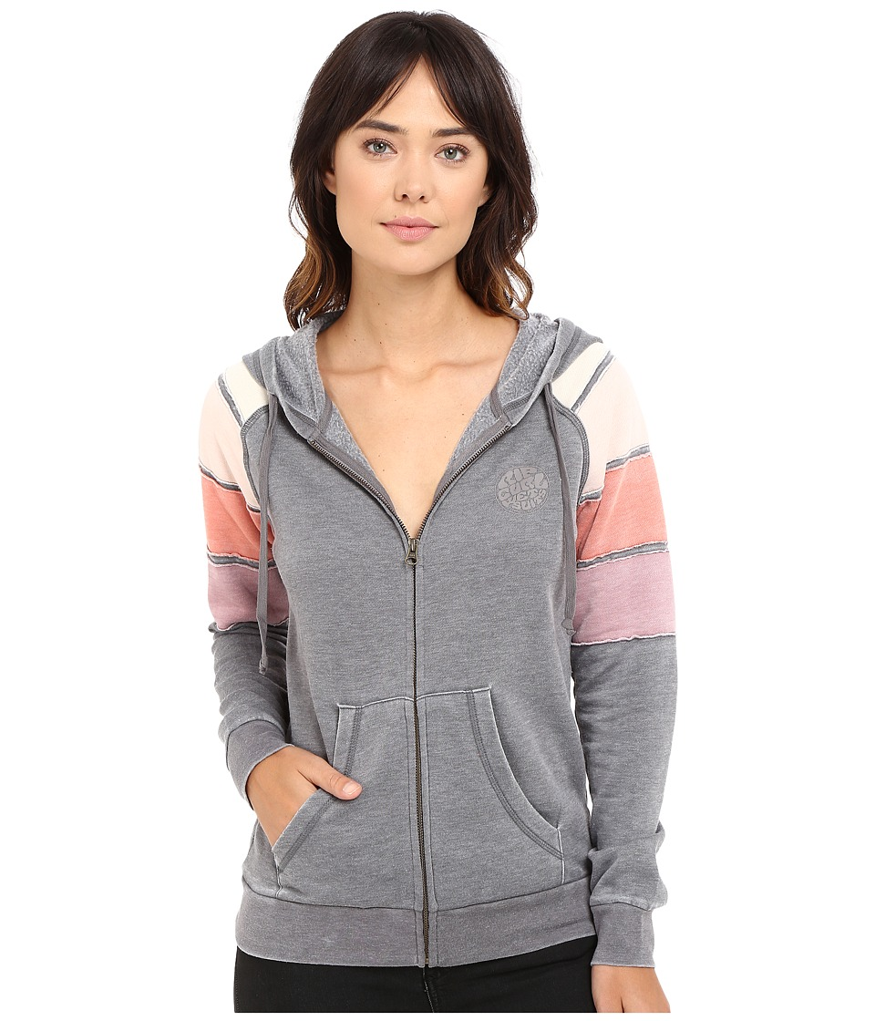 Rip Curl - Freedom Zipup Sweatshirt (Grey) Women's Sweatshirt