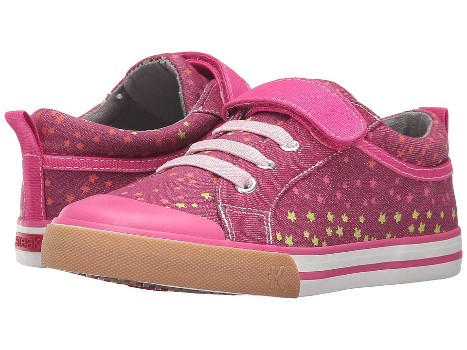 See Kai Run Kids - Kristin (Toddler/Little Kid) (Berry/Hot Pink) Girl's Shoes