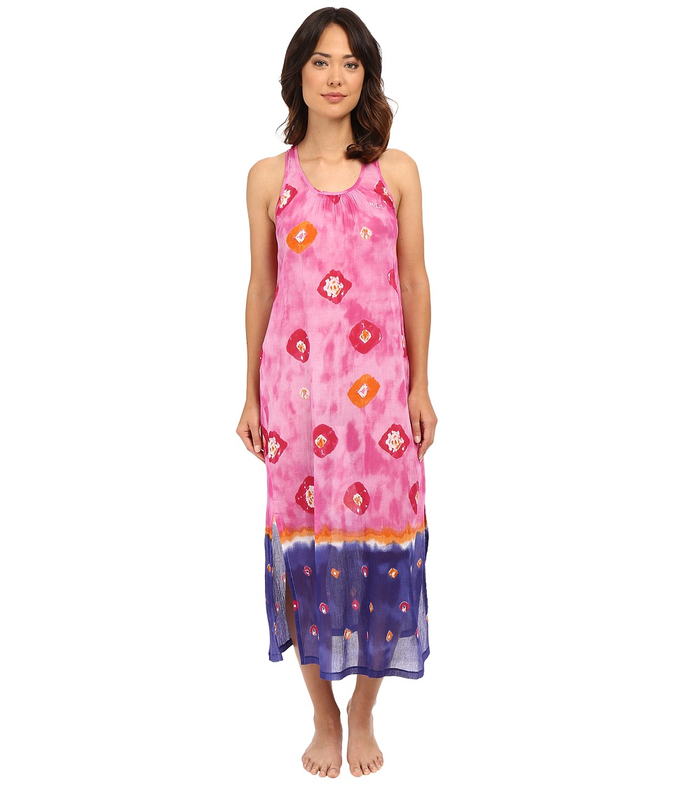 LAUREN Ralph Lauren - Maxi Gown (Circle Print) Women's Pajama