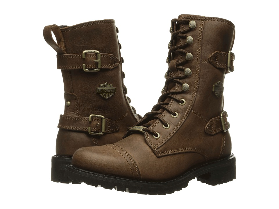 Harley-Davidson - Balsa (Brown) Women's Lace-up Boots
