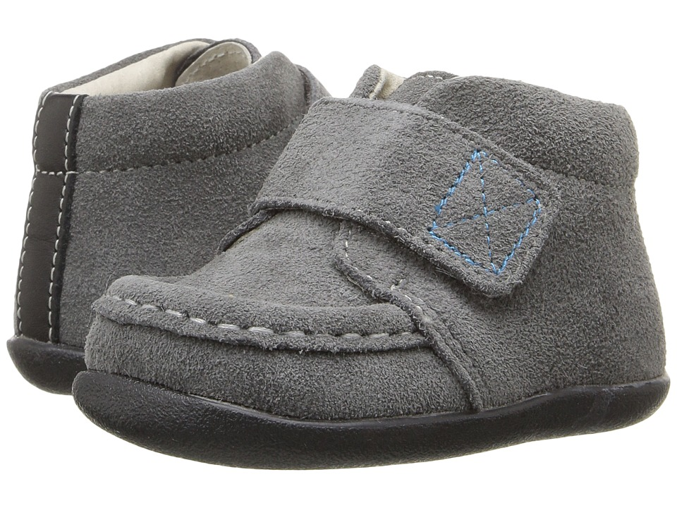 See Kai Run Kids - Desmond (Infant/Toddler) (Gray) Boy's Shoes