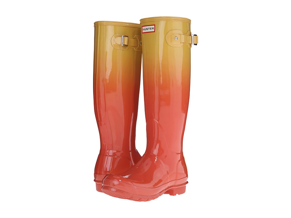 Hunter - Original Tall Color Haze (Sunset/Hay) Women's Rain Boots