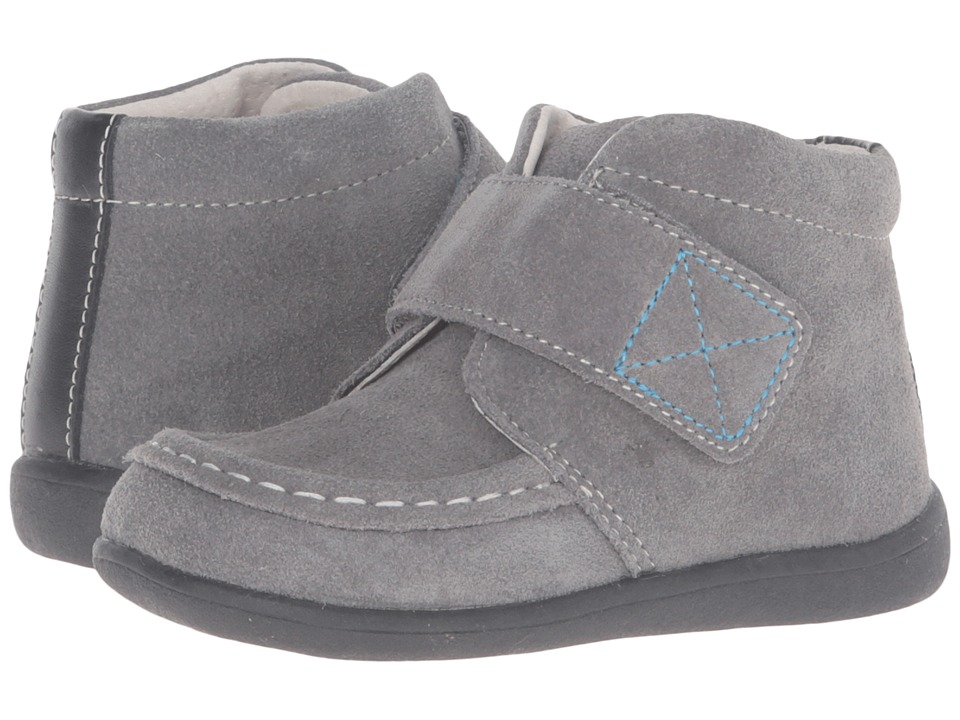 See Kai Run Kids - Desmond (Toddler) (Gray) Boys Shoes