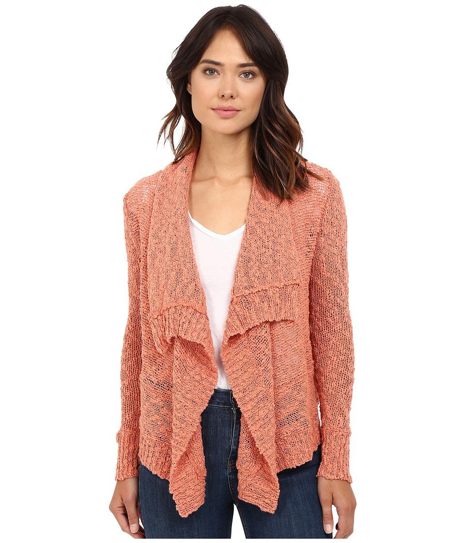 Rip Curl - Venice Cardigan (Salmon) Women's Sweater