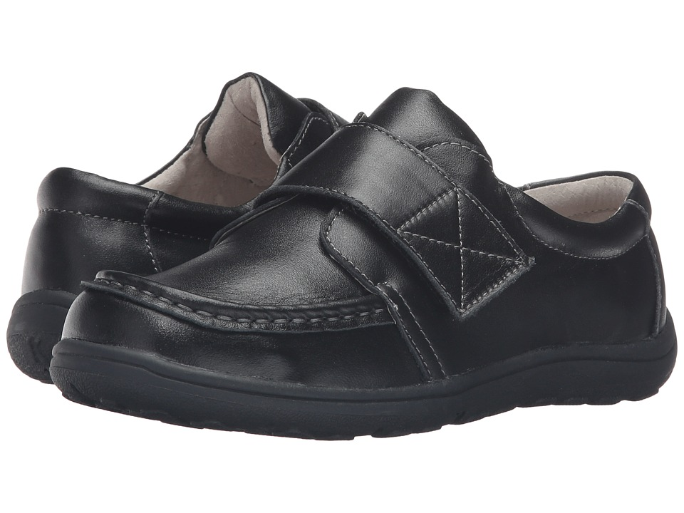 See Kai Run Kids - Ross (Toddler/Little Kid) (Black Leather) Boys Shoes