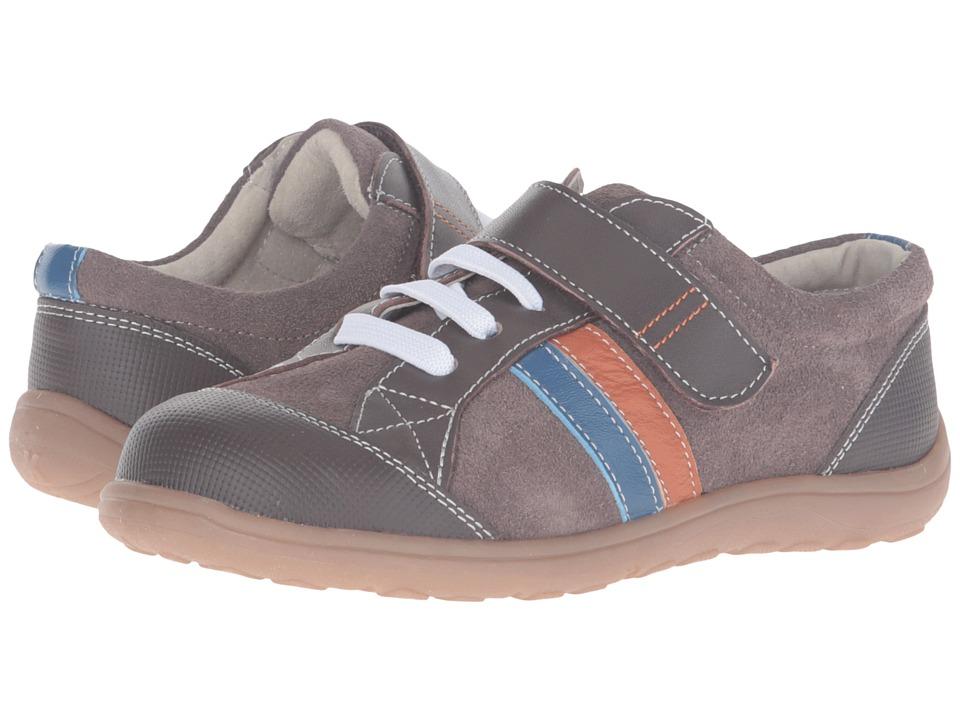 See Kai Run Kids - Randall (Toddler/Little Kid) (Brown/Blue/Orange) Boy's Shoes