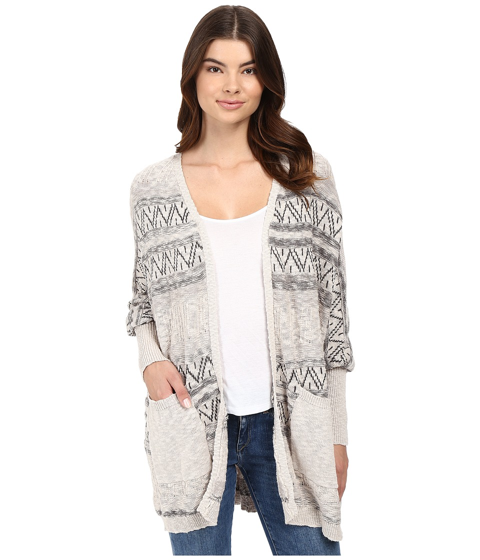 Rip Curl - Next in Line Cardigan (Grey) Women's Sweater