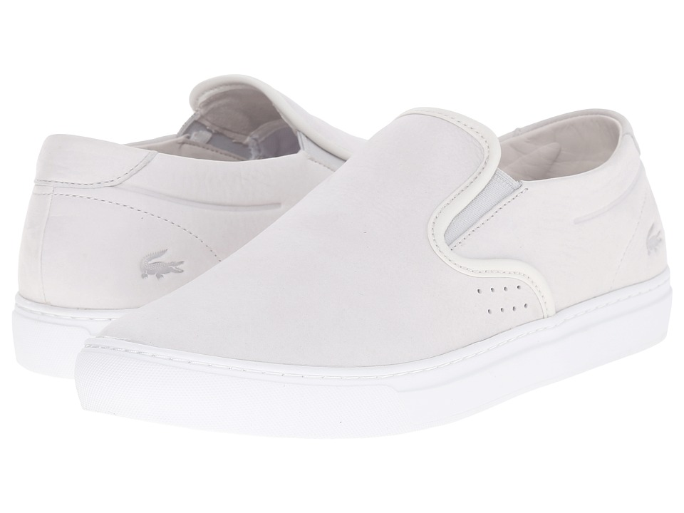 Lacoste - Alliot Slip-On 216 1 (Off-White) Men's Slip on Shoes